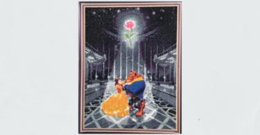 額縁印刷30cm×40cm ダイヤモンドアート